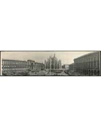 Panoramic View of Piazza & Cathedral, Mi... by Library of Congress