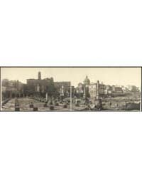 Panoramic View of Roman Forum Looking To... by Library of Congress
