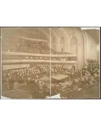 Billiard Tournament at Orchestra Hall, P... by Library of Congress