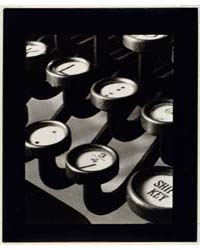 Typewriter Keys, Photograph Number 05985... by Steiner, Ralph