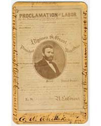 Proclamation on Labor by the President o... by Gardner, Alexander