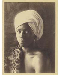 Young Man in African Costume with Turban... by Day, F. Holland