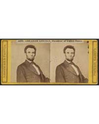 Hon. Abraham Lincoln, President of the U... by Walker, Lewis E.