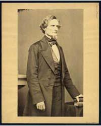 Jefferson Davis, Three-quarter Length Po... by Brady, Mathew B