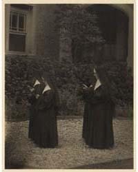 Four Nuns in Procession, Photograph Numb... by Ulmann, Doris