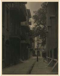 An Alley, in a City in the South, CA., 1... by Ulmann, Doris