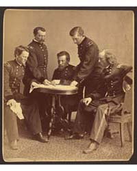 Sheridan and His Generals, Photograph Nu... by Gardner, Alexander