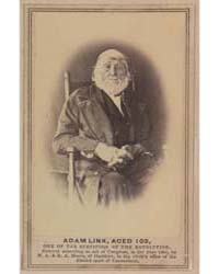 Adam Link, Aged 102, One of the Survivor... by Moore, Nelson Augustus