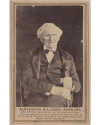 Alexander Millener, Aged 104, One of the... by Moore, Nelson Augustus