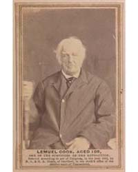 Lemuel Cook, Aged 105, One of the Surviv... by Moore, Nelson Augustus