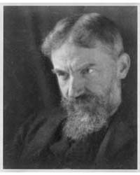 Portrait of George Bernard Shaw, Photogr... by Coburn, Alvin Langdon