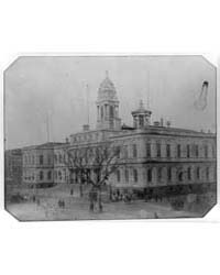 City Hall, New York, Photograph Number 3... by Holmes, S. A.