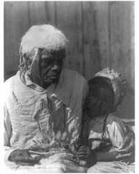White Haired Negress with Child, Photogr... by Ulmann, Doris