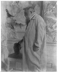 Auguste Rodin, Three-quarter Length Port... by Käsebier, Gertrude