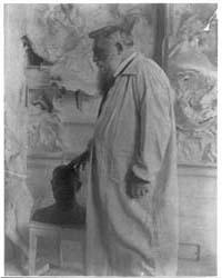 Auguste Rodin, Three-quarter Length Port... by Käsebier, Gertrude