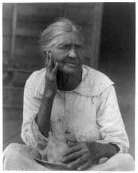Old Woman Holding a Bowl, Photograph Num... by Ulmann, Doris