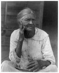 Old Woman Holding a Bowl, Photograph Num... by Ulmann, Doris