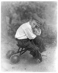 Small Boy on Kiddie Car, Photograph Numb... by Ulmann, Doris