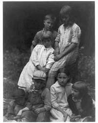 Group of Seven Children, Photograph Numb... by Ulmann, Doris