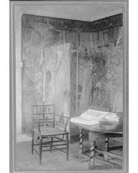 Kelmscott Manor : in the Tapestry Room, ... by Evans, Frederick H