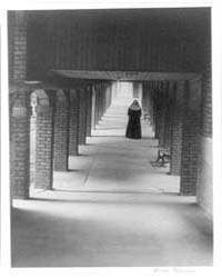 Nun in Cloister, Photograph Number 3A445... by Ulmann, Doris