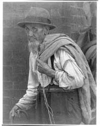 Old Man with Empty Sack, Number 1, Photo... by Ulmann, Doris