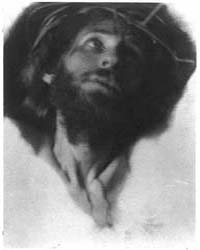 Christ with Crown of Thorns, Looking Up,... by Day, F. Holland