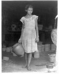 Girl Carrying a Crock, Photograph Number... by Ulmann, Doris