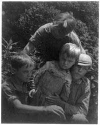 Four Small Boys, Photograph Number 3B016... by Ulmann, Doris
