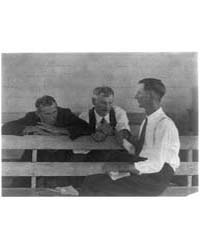 Three Men Seated, in Conversation, Numbe... by Ulmann, Doris
