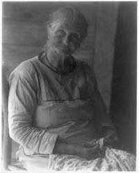 Old Woman with Sewing, Photograph Number... by Ulmann, Doris