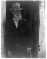 Man with Beard Standing in Doorway, Phot... by Ulmann, Doris