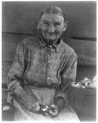 Woman Paring Apple, Number 1, Photograph... by Ulmann, Doris