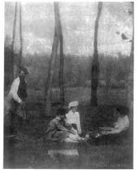 Serbonne, 1901, Photograph Number 3B0406... by Käsebier, Gertrude