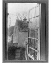 Kelmscott Manor : Thro' a Window in the ... by Evans, Frederick H