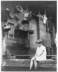 Girl Seated at the End of a Porch, Photo... by Ulmann, Doris