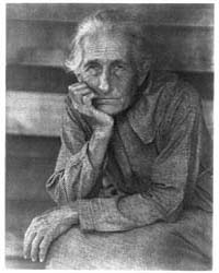 Old Woman Seated, Photograph Number 3B16... by Ulmann, Doris