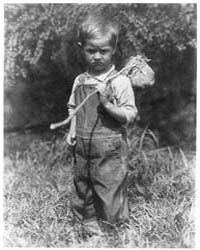 Small Boy with Knapsack, Photograph Numb... by Ulmann, Doris