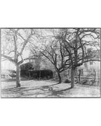 Kelmscott Manor : from the Orchard, Phot... by Evans, Frederick H