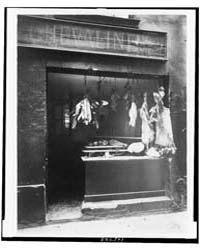 Boucherie, Rue Christine, Photograph Num... by Atget, Eugène