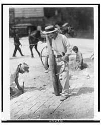 Street Paver, Photograph Number 3C05729V by Atget, Eugène