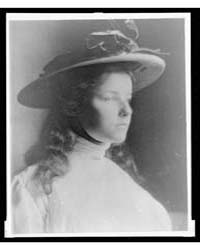 Lee in White Dress and Hat, Photograph N... by Day, F. Holland