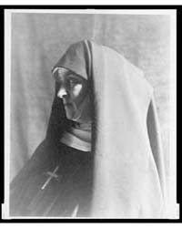 Nun, Profile, Photograph Number 3C35754V by Day, F. Holland