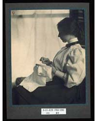 The Embroidery Frame, Mw., Photograph Nu... by Weil, Mathilde