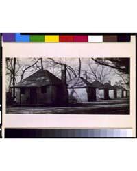 Slave Houses on Hermitage Plantation, Sa... by Evans, Walker