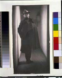 Edward Steichen, in Coat and Hat, Standi... by Day, F. Holland