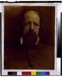 Portrait of Alfred, Lord Tennyson, Photo... by Cameron, Julia Margaret