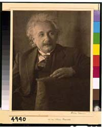 Albert Einstein, Half-length Portrait, S... by Ulmann, Doris