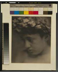 Nude Boy with Laurel Wreath, Face, Photo... by Day, F. Holland