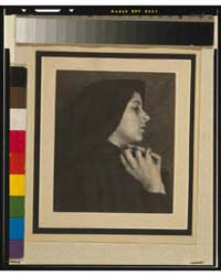 Woman in Black Cloak Habit, Photograph N... by Day, F. Holland